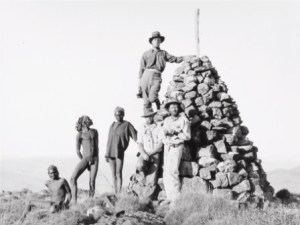 Cecil Hackett - At the summit of Mt Woodroffe, June 1933 (c) Wakefield Press
